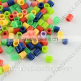 Kid's DIY Fuse Beads Refills, Tube, Mixed, 5x5mm, Hole: 3mm, about 8000pcs/500g(DIY-R013-M1)