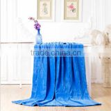 2014 BEST SELLING Fashion solid flannel blanket,100% polyester blanket