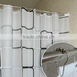 Latest Hot Selling Custom Shower Curtain Fancy Curtain