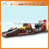 Good pvc inflatable hdpe slide for fun