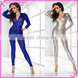 Wholesale Sex Shaper Long Sleeve Women Cheap Latex Catsuit