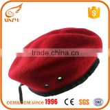 2016 custom design your own wool beret military for french hat beret hat                                                                         Quality Choice