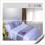 Egyptian Cotton 400TC Sateen Fabric Hotel Bedlinen White Bedding Sets Queen                                                                         Quality Choice