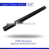 Good quality low price copier upper fuser roller heat roller compatible for Kyocera KM5035 3035 4035 4031 China market