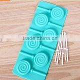 KN010 Cute DIY ice box popsicle ice cream popsicle chololates mold 2015