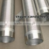 water well pvc screens,wire welded johnson screen pipes