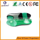 hot-selling pu insole comfort orthotic safety shoe inserts for flat foot