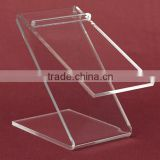 Transparent high heel shoes display acrylic shoes holder