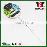 GX-7004 cheap price aluminium&steel custom badminton rackets overgrips/led badminton