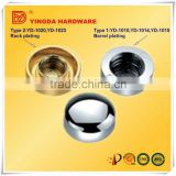 YD-1010 Zinc alloy Polishing chrome Mirror Nail furniture decorative fittings from factory