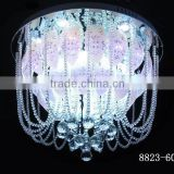 factory cheap price round ceiling lamp circular ceiling light the Luxury ceiling lamp ball glass Crystal ball