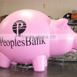 Factory price inflatable pig balloons for parade