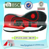 Europ quality standard basketball shoes outsole with rubber material