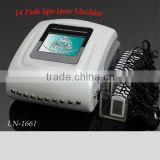 factory promotion!!!top sale!!!14 pads cold laser therapy
