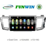 Funwin Android 4.4.2 Car dvd player touch screen for toyota rav4 Car radio cd player WIFI 3G mirror link