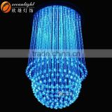 Well fiber optic light led fiber optic light price crystal fiber optic lights hanging light with OM096W