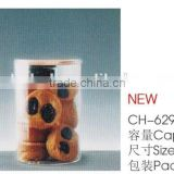 DISPOSABLE PS COOKIES BISCUIT SNACK PACKING BOX CONTAINER WITH LID ECONOMIC CH6292