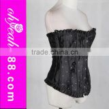 Accept paypal full size overbust bustier top europe sexy ladies corset