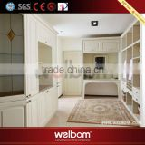 High gloss competitive price wholesale design wardrobe built