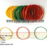 Factory directly wholesale mixed color soft stretch rubber band / HOT seller rubber products export to China