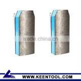 Diamond resin bond fickert abrasive for stone polish