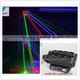 8pcs*10w rgb or green portable disco laser party lights