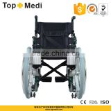 TopMedi folding Aluminum handicapped power electric wheelchair prices for disabled people(electric wheelchair for handicapped)