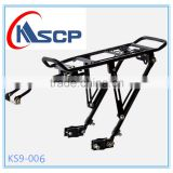 Bicycle fast disassembly type mountain bike racks after aluminum alloy tail frame is manned mount accessories and equipment