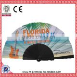 colorful bamboo craft hand fans