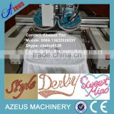 Two colors automatic rhinestone hot fix machine for apparel