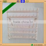 Christmas promotion!!! china supplier hot sale home sewing tool wood thread rack with 60 spools