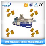 ZHUOHENG Automatic 120-150kg/h capacity puffed cereal core filled snacks food extruder machine