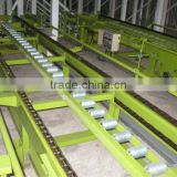 industrial powered short roller conveyor