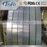 304 slit edge stainless steel strip with BA / 2B / NO.8 / mirror surface finish