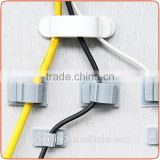 J481 Hot Selling plastic cord ring cable holder clip