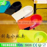 Office Used Coffee Cup Holder Plastic Material Feature Wholesale