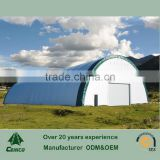 Steel Frame Fabric Storage shelter , Temporary Workshop , Farming Warehouse Tent, Clearspan Fabric Building