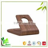 Smooth surface natural bamboo unique cell phone holders for iPhone ,SAMSUNG