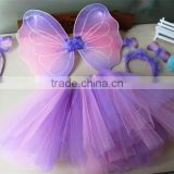 Fairy Rainbow party baby dress up set