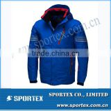 Men Sportswear White & Blue Active Cheap Crane Snow Ski Wear