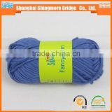 Knitting yarns china supplier cheapest wholesale oeko tex certified organic bamboo blended wool yarn, bamboo spun baby yarn