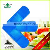 cohesive bandage in blue color CE FDA certificated waterproof Visible Blue plaster
