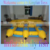 Water flying fish inflatable/water toys for adventure