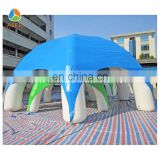 2014 Hot inflatable spider art used party tents for sale