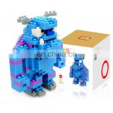 Green-haired Monster Building Block Set Best Gift for Boys and Girls