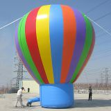 Customized giant inflatable hot air balloon, inflatable helium balloon for advertising