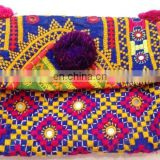 Unique Valentine's Gifts - Vintage Banjara Handmade Evening Clutch Bag