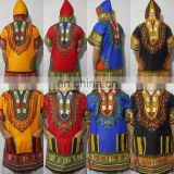 Mens Women African Dashiki Hoodie Hoody Top W/ Hood Traditional Blouse Shirt kaftan Boho African Top Mexican shirt S M L XL XXL