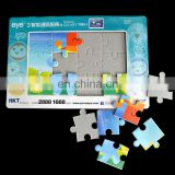 printed paper cardboard photo fram puzzle
