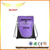 Most popular colors sports Polyester drawstring bag